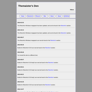 ArchiveBay.com - themaister.net - Themaister's Den