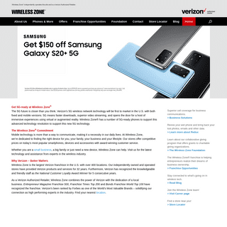 ArchiveBay.com - wirelesszone.com - Wireless Zone - Authorized Verizon Retailer - mobile devices, accessories