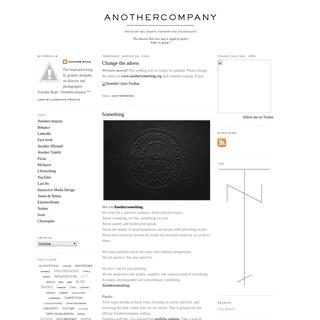 Anothercompany - Joachim Baan