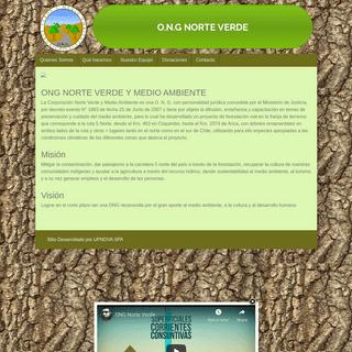 Ong Norte Verde - Sitio WEB ONG Norte Verde