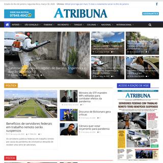 A Tribuna RJ – Jornal A Tribuna do estado do Rio de Janeiro.