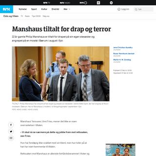ArchiveBay.com - www.nrk.no/osloogviken/manshaus-tiltalt-for-drap-og-terror-1.14891915 - Manshaus tiltalt for drap og terror – NRK Oslo og Viken – Lokale nyheter, TV og radio