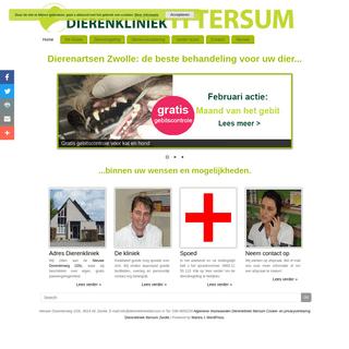 Dierenkliniek Ittersum Zwolle - Dierenartsen Zwolle- de beste behandeling voor uw dier, binnen uw wensen en mogelijkheden.