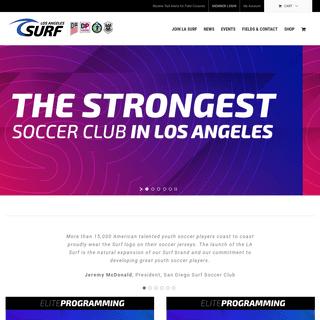 LA Surf Soccer Club - The New Home of Elite Soccer in LA - Welcome to LA Surf Soccer