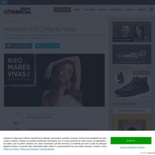 Anitta no MEO Marés Vivas