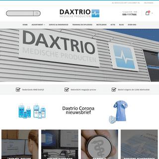 Daxtrio - Leverancier van Medische Producten