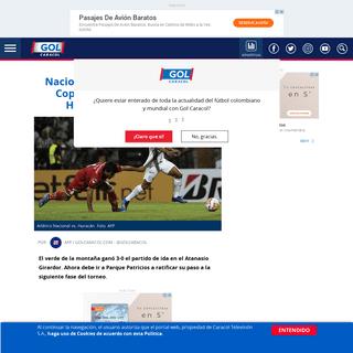 ArchiveBay.com - gol.caracoltv.com/copa-suramericana/nacional-y-su-prospero-andar-en-copa-sudamericana-visita-huracan-este-miercoles-ie11323 - Atlético Nacional vs. Huracán, por Sudamericana