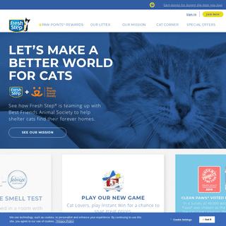 Fresh Step® - Cat Litter That Stops Odor