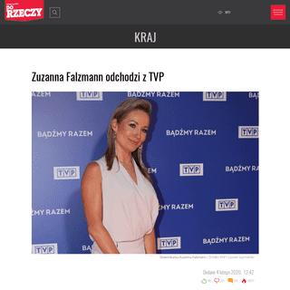 ArchiveBay.com - www.dorzeczy.pl/kraj/128488/zuzanna-falzmann-odchodzi-z-tvp.html - Zuzanna Falzmann odchodzi z TVP