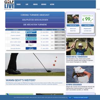 GOLF-LIVE.AT - Profi Golfsport von der Tour mit Wiesberger, Schwab