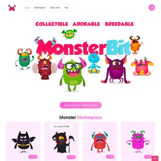 ArchiveBay.com - monsterbit.org - MonsterBit - Blockchain Game on Ethereum