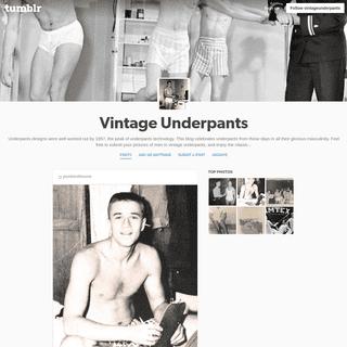 Vintage Underpants