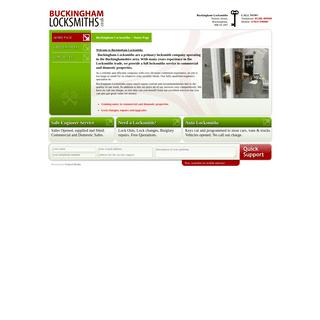 Buckingham Locksmiths - Home Page