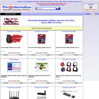 Distribuidor de Pen drive, Cartão de memorias, Pilhas em Atacado