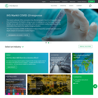 IHS Markit - Leading Source of Critical Information