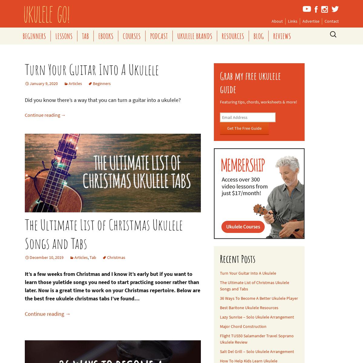 ArchiveBay.com - ukulelego.com - Learn Ukulele - Lessons, Tutorials & More - Ukulele Go Blog!