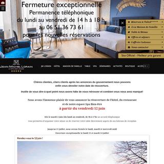 Hôtel 5 étoiles avec SPA - restaurant 2 étoiles Bourgogne