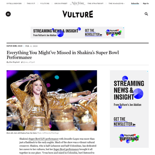Shakira's Super Bowl Halftime Show- Everything You Missed