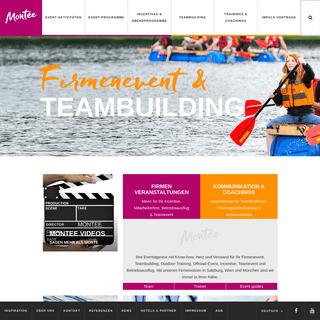Firmenevent - Teambuilding - Incentive - Teamevent - Outdoor Training - Montee
