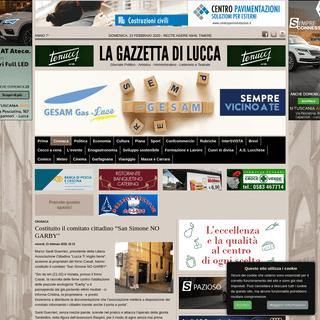 """Costituito il comitato cittadino """"San Simone NO GARBY- » La Gazzetta di Lucca"""