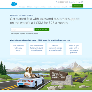 ArchiveBay.com - salesforceiq.com - Salesforce Essentials is the Best CRM for Small Businesses - Salesforce.com