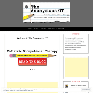 Welcome to The Anonymous OT - The Anonymous OT