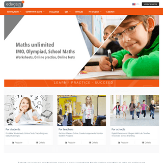 Edugain USA - Math Worksheets, Online Tests and Practice