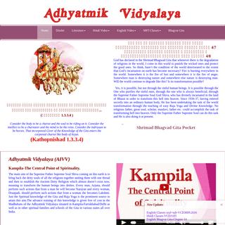 Adhyatmik vidyalaya