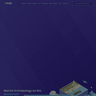 PO8 - Marine Archaeology on the Blockchain