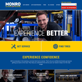 Monro Auto Service And Tire Centers - Save On Tires & Oil Changes