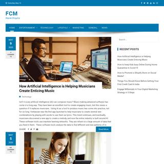 FCM - Regular Blogging