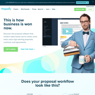 Proposal Software - Proposify