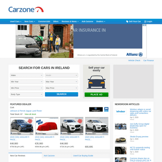 Carzone Ireland - New & Used Cars For Sale