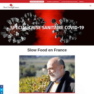 Slow Food en France - Pour une alimentation bonne, propre et juste.