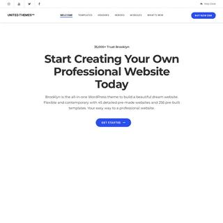 Create a Website - UNITED THEMES™ Create a Wordpress Website - WordPress Themes - Website Templates