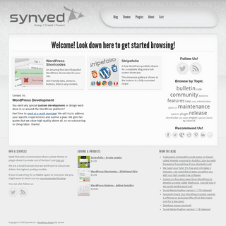 WordPress Themes, Plugins, WordPress Development and Design by Synved