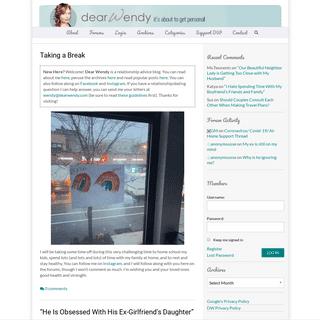 ArchiveBay.com - dearwendy.com - Dear Wendy — A relationship Advice Site