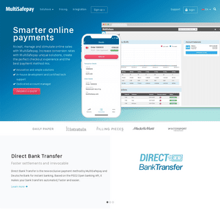 MultiSafepay- easily accept online payments