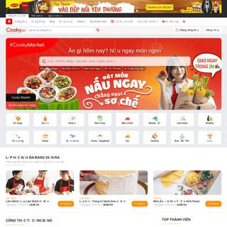 Trang tổng hợp các công thức nấu ăn ngon, dễ làm tại nhà - Cooky.vn