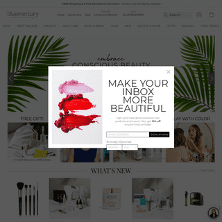 The Best In Makeup, Skincare and Spa - bluemercury