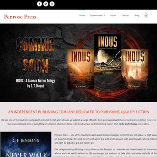 Novella Publishers and Short Story Publisher Penrose Press