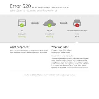 ukbusinessangelsassociation.org.uk - 520- Web server is returning an unknown error
