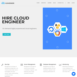 ArchiveBay.com - cloudneer.com - CLOUDNEER - Hire Cloud Engineer - AWS - Google - Azure - Digital Ocean
