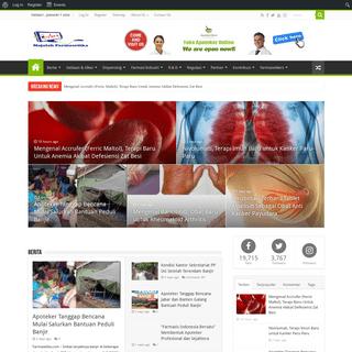 HomePage - Info Farmasi Terkini Berbasis Ilmiah dan Praktis
