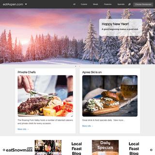 eatAspen - Aspen's Dining Guide