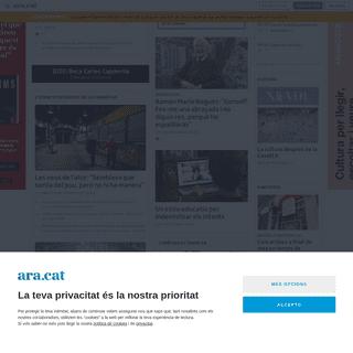 Ara.cat - El diari líder en català amb l'última hora i totes les notícies