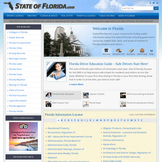 State of Florida Information Portal