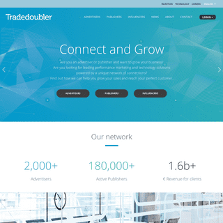 ArchiveBay.com - tradedoubler.com - Tradedoubler – Connect and Grow