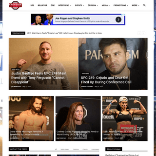 Cageside Press - Everything MMA!