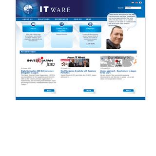 ITware Informatikai Szolgáltató és Kereskedelmi Kft. - ITware Kft.